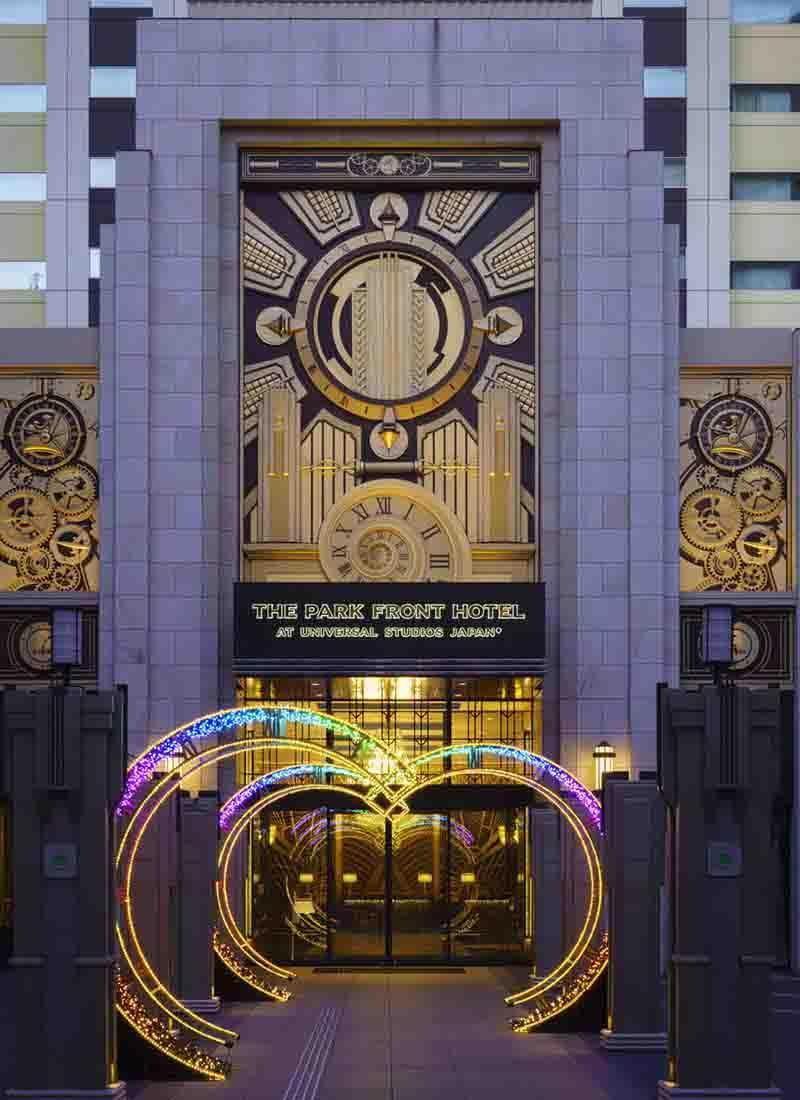 ザ パーク フロント ホテル アット ユニバーサル スタジオ ジャパン 駐 車場