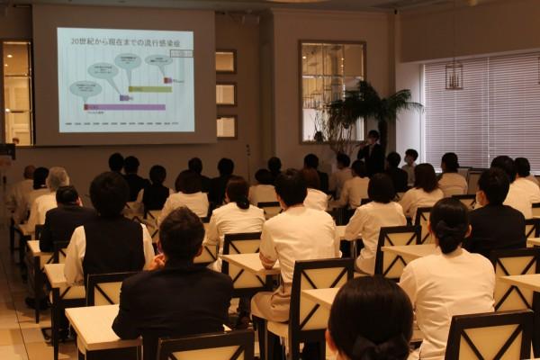 【従業員向け】感染制御実践看護師(PNIPC)による新型コロナウイルス感染症対策講習会を開催