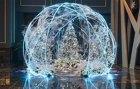 【ホテルでディナーを楽しむ、クリスマス・ドラマティック・ステイ】 贅沢な「パーク体験&宿泊」をおトクに!